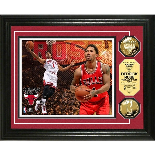 Derrick Rose Gold Coin Photo Mint