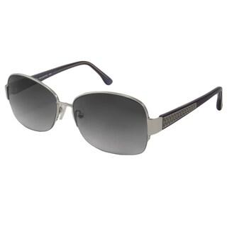 Michael Kors Women's M2470S Britt Rectangular Sunglasses