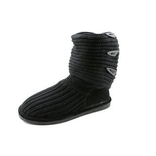 Bearpaw Women's 'Knit Tall' Basic Textile Boots (Size 7 )