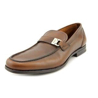 Salvatore Ferragamo Men's 'Tazio' Leather Dress Shoes (Size 8.5 )