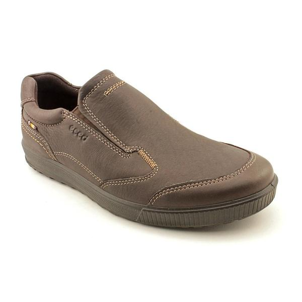 ecco s bradley slip on leather athletic shoe
