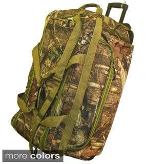 Explorer 22-inch Mossy Oak Carry-on Rolling Upright Duffel Bag