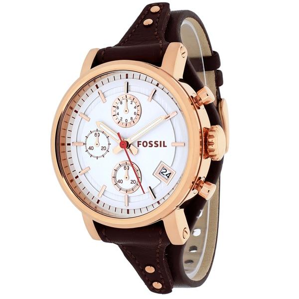 fossil s es3616 original boyfriend chronograph