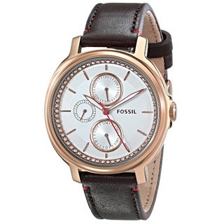 """Fossil Women's ES3594 """"Chelsey"""" Multifunction Leather Watch"""