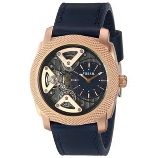 Fossil Men's ME1158 'Machine' Twist Leather Watch