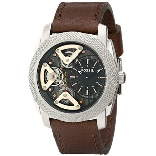 Fossil Men's ME1157 'Machine' Twist Leather Watch