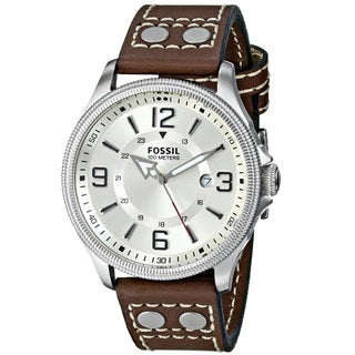 Fossil Men's FS4936 'Recruiter' Leather Watch