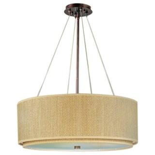 Elements Oil-rubbed Bronze Single-light Pendant 14393377