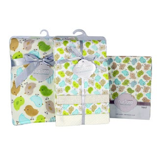 Nurture Imagination Nest Chickadee Nursery Bedding Bundle