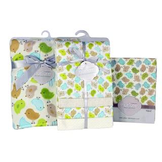 Nurture Imagination Chickadee Nursery Bedding Bundle