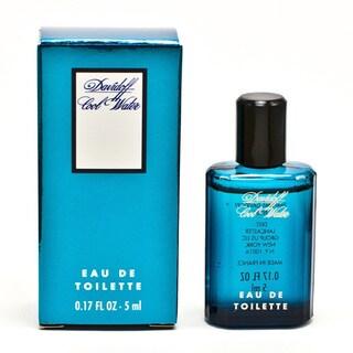 Davidoff Cool Water Men's 0.17-ounce Eau de Toilette Mini Spray