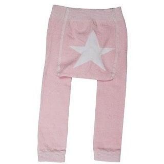 Girls' Pink Star Leggings