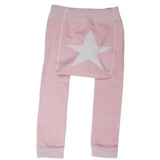 Girls' Pink Star Leggings