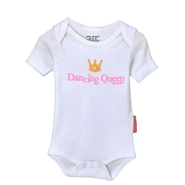 Girls' Dancing Queen Pink Bodysuit