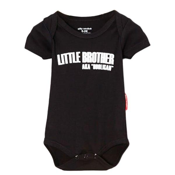 Boys' 'Lil Brother Hooligan' Bodysuit