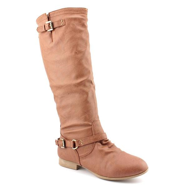 Top Moda Women's 'Coco-1' Leather Boots