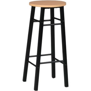 Martin Studio Stool with Woodgrain Top Drafting Height