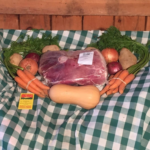 Vegetable Ranch Organic Ham and Vegetable Dinner Bundle (Local Delivery)