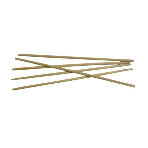 Flowery 6-inch Birchwood Manicure Sticks (Set of 5)