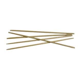 Flowery 6-inch Birchwood Manicure Sticks (Set of 5)