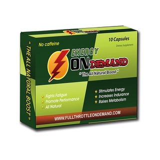 Energy On Demand Capsules 10 Count