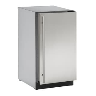 U-Line 3000 Series 3018 - 18 Inch Stainless Steel Clear Ice Maker w/ out Pump