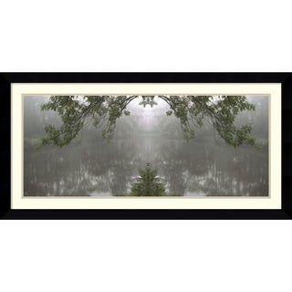 Amy Evans 'Clouds on the Ground, #142c' Framed Art Print 43 x 22-inch