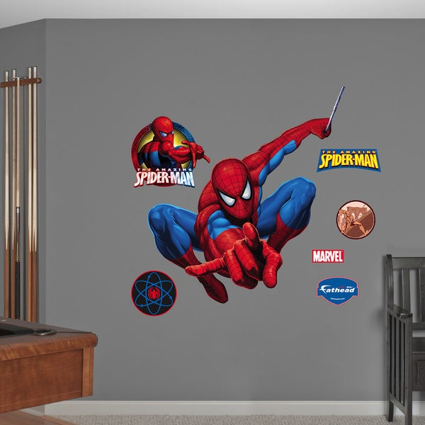 Fathead Big Spider-Man Hero Wall Decals