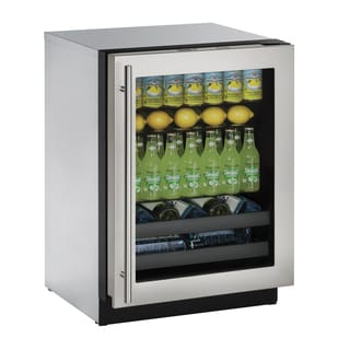 U-Line 3000 Series 3024BEV - 24 Inch Stainless Steel Beverage Center