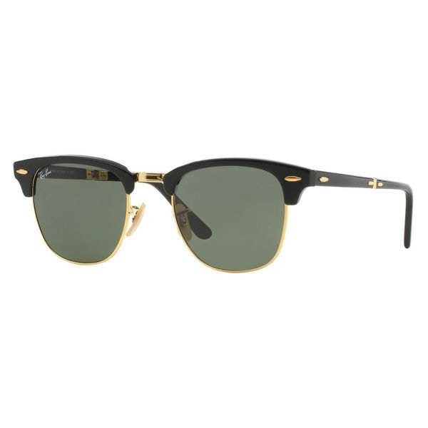 Ray-Ban 2176 901 Clubmaster Folding Sunglasses