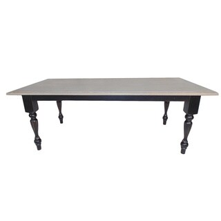 Oakwood Solid Acacia Wood Dining Table