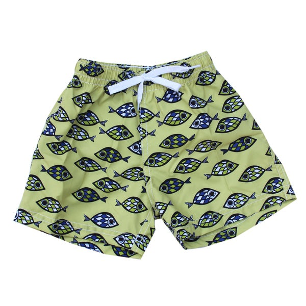 Azul Swimwear Fish Eye Boys' Swim Shorts