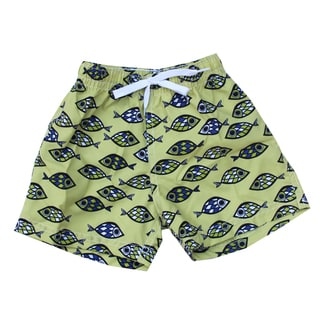 Azul Swimwear Fish Eye Boys' Swim Shorts