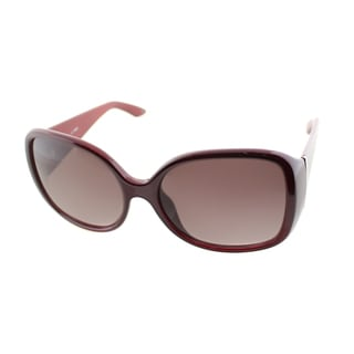 Fendi Women's Women's Burgundy Sunglasses