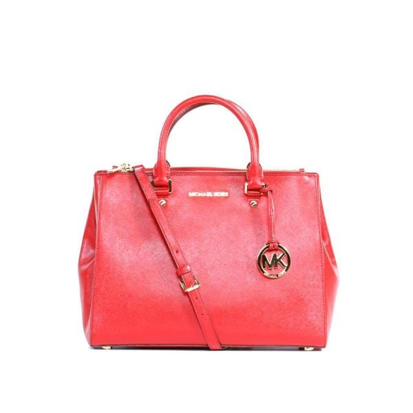MICHAEL Michael Kors Scarlet Sutton Large Leather Satchel