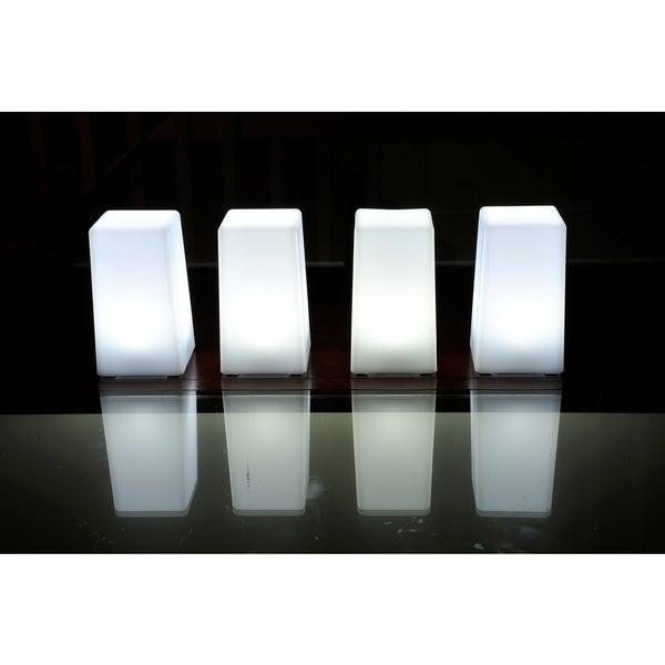 Contempo Lights LuminArt Nova 5-inch LED Rechargeable Table Lamp