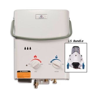Eccotemp L5 Tankless Water Heater with Flojet Pump