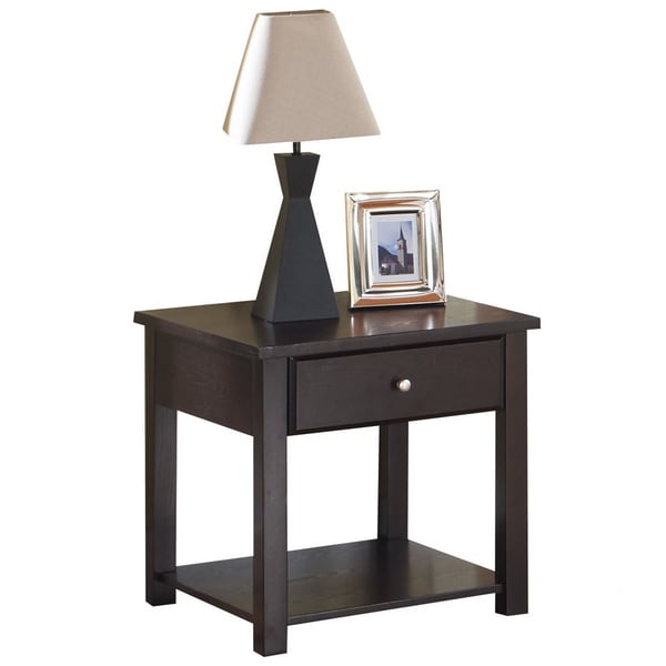 Malden Espresso End Table