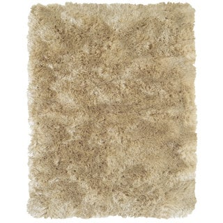 "Grand Bazaar Tufted Polyester Pile Freya Rug in Cream 2'-6"" X 6'"