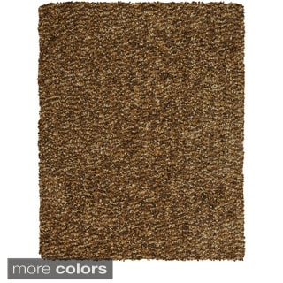 Feizy Tufted Polyester Catarina Rug in Raisin 8' X 11'