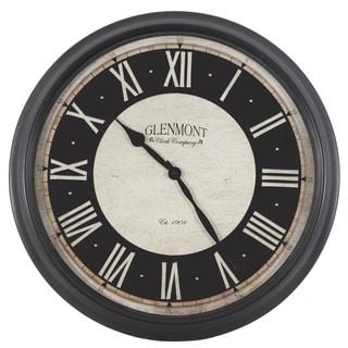 30-inch Black Glenmont Clock
