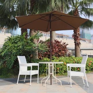 Sirio HA010 9-Foot Patio Umbrella Coffee Color