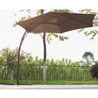 Sirio HA016 10-Foot Offset Umbrella in Coffee Color