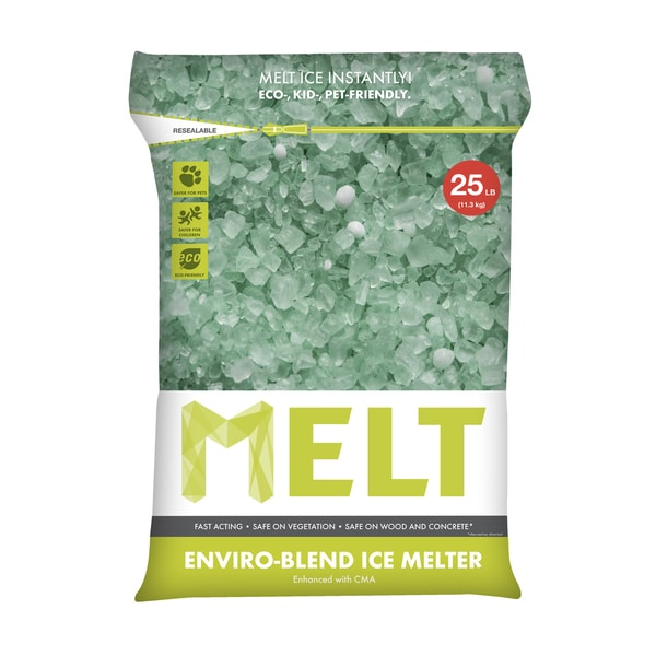 Premium Enviro-blend Ice Melter with CMA (25-pound Bag)