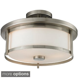 Svannah Contemporary 2-light Semi-flush Mount
