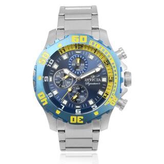 Invicta Men's 7353 'Signature II' Stainless Steel Link Wrist Watch