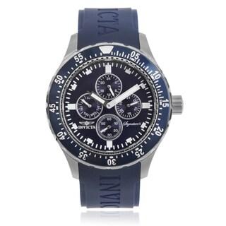 Invicta Men's 7402 'Signature II' Polyurethane Wrist Watch
