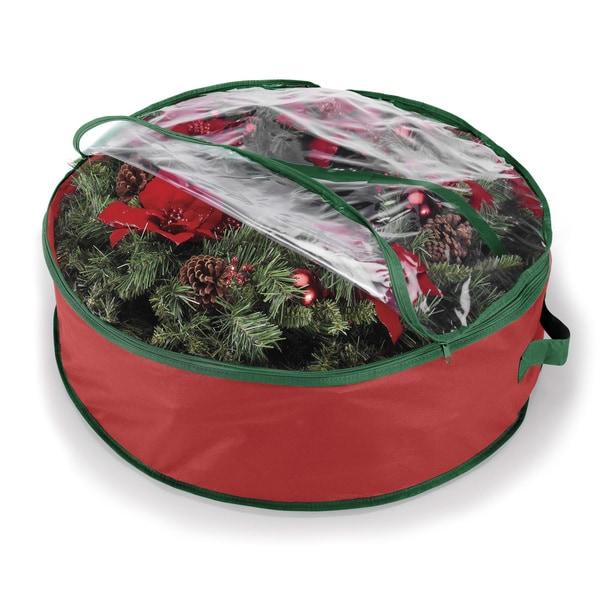 Whitmor 30 Inch Wreath Storage Bag 16829037 Overstock