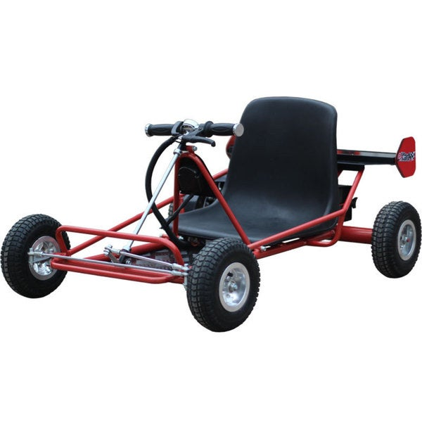 MotoTec Solar Electric Red 24v Go Kart