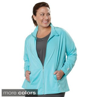 Live Life Large Women's Plus Size Technical Jacket